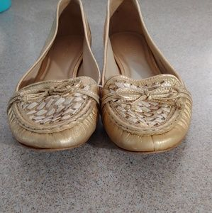 kate spade Shoes - Gold Kate Spade Loafers